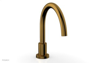 BASIC Deck Tub Spout D5130 - French Brass Product Image
