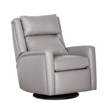 Reclination Drake Manual Push Back Swivel Glider Recliner