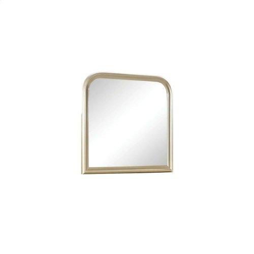 Hershel Louis Philippe Metallic Champagne Dresser Mirror