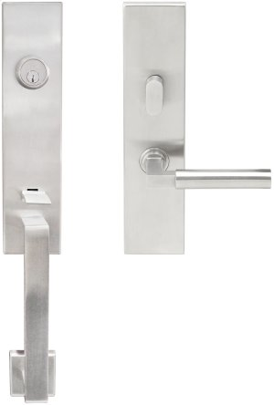 "MH Handleset Tubular Aurora Entry 2-3/8"" 32D LH Product Image"