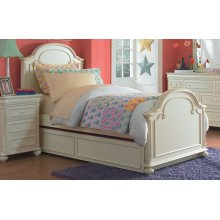 Charlotte Arched Panel Bed Twin
