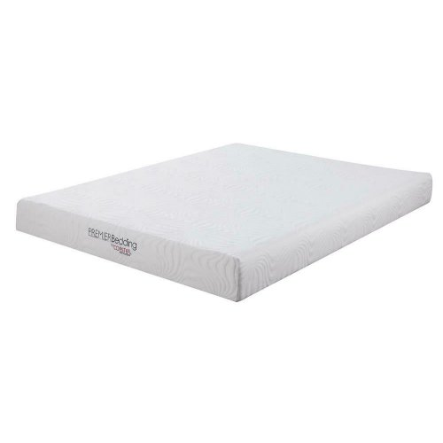 Keegan White 8-inch Queen Memory Foam Mattress
