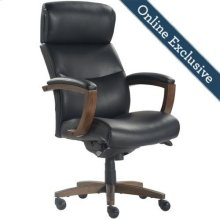 Greyson Executive Office Chair, Black