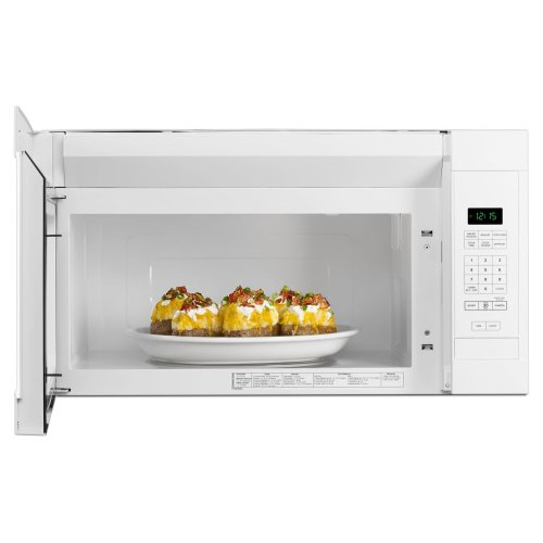 1.6 Cu. Ft. Over-the-Range Microwave with Add 0:30 Seconds White