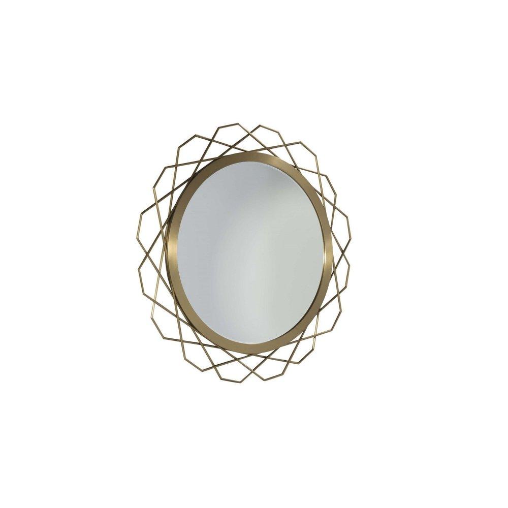 Bauble Round Metal Mirror