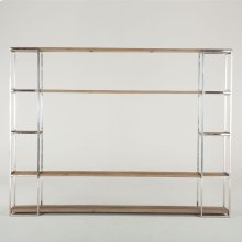 """Rustic Luxe Bookcase 80"""" Natural"""