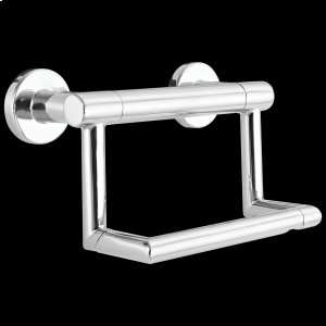 Chrome Contemporary Tissue Holder with Assist Bar Product Image