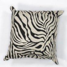 "L119 Zebra Oasis Pillow 18"" X 18"""