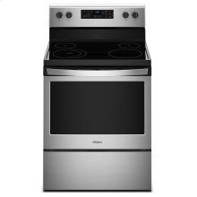 5.3 cu. ft. Freestanding Electric Range with Adjustable Self-Cleaning Stainless Steel