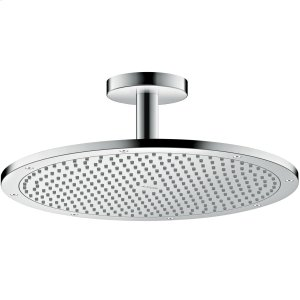 Chrome Overhead shower 350 1jet with ceiling connection Product Image
