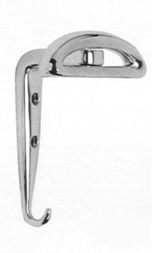 Decorative Modern Hat & Coat Hook in (Decorative Modern Hat & Coat Hook - Solid Brass) Product Image