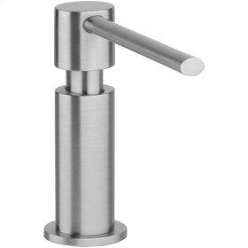 "Elkay 2-1/8"" x 5"" x 5-1/2"" Soap / Lotion Dispenser, Chrome (CR)"