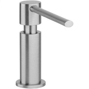 "Elkay 2-1/8"" x 5"" x 5-1/2"" Soap / Lotion Dispenser, Chrome (CR) Product Image"