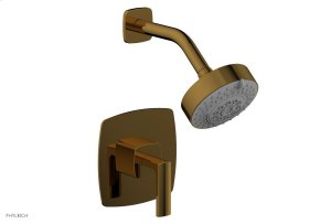 RADI Pressure Balance Shower Set - Lever Handle 181-22 - French Brass Product Image