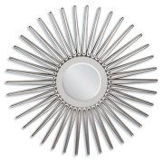 "SILVER ACCENT MIRROR, 45""D Product Image"
