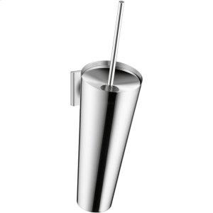 Chrome Toilet brush holder wall-mounted Product Image