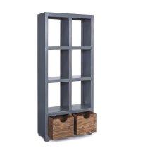 Bookcase - Boutique Blue Finish