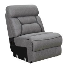 Camargue Grey Reclining Power Sectional