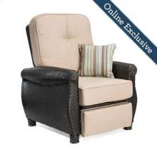 Breckenridge Patio Recliner, Natural Tan