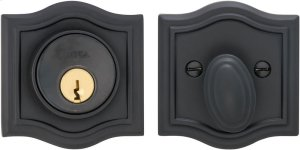 Arched Auxiliary Deadbolt Kit in (US10B Oil-rubbed Bronze, Lacquered) Product Image