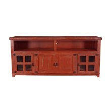 "Marfa Red 70"" TV Stand"
