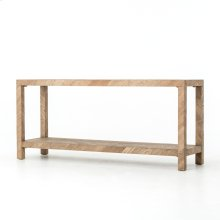 Lamar Console Table-drifted Oak