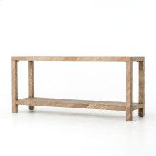 Lamar Console Table-drifted Oak