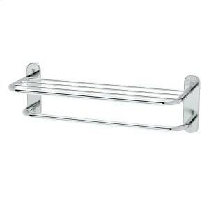 "Spa Rack - 26 1/2""L by 8 1/2""H in Chrome Product Image"