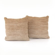 "20x20"" Size Flaxen Ombre Pillow, Set of 2"