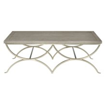 Marquesa Cocktail Table in Gray Cashmere (359)