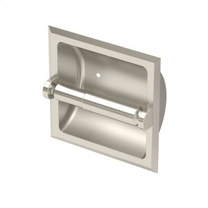 Recessed Tissue Holder in Satin Nickel Product Image