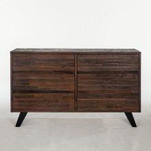"""Urban Loft Dresser 60"""" Dark"""