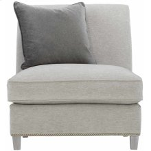 Palisades Armless Chair in Cerused Greige (796)