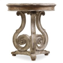 Living Room Chatelet Scroll Accent Table