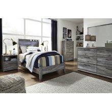 Baystorm - Gray 2 Piece Bed Set (Twin)