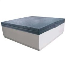 Thermo insulation cover for free standing Quadrat pool.