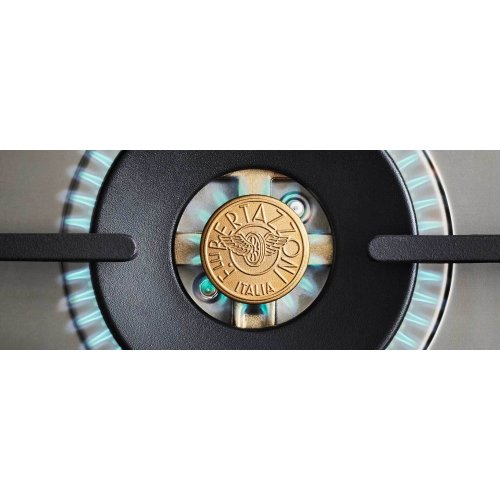 36 inch All Gas Range, 6 Brass Burners Rosso