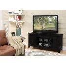 BLACK FINISH TV STAND Product Image