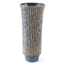 Knot Lg Vase Blue & Gold