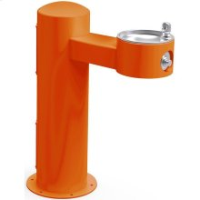 Elkay Outdoor Fountain Pedestal Non-Filtered, Non-Refrigerated Freeze Resistant Orange