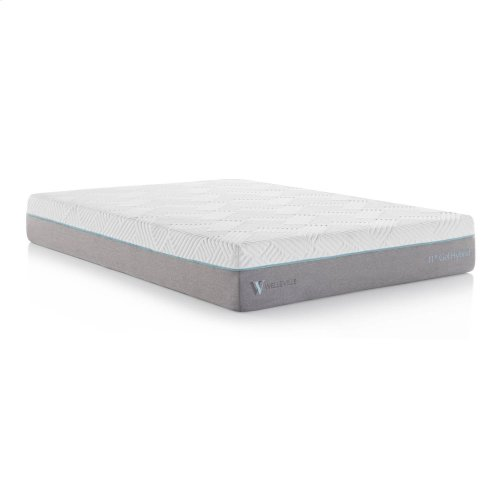 Wellsville 11 Inch Gel Memory Foam Hybrid Mattress Twin