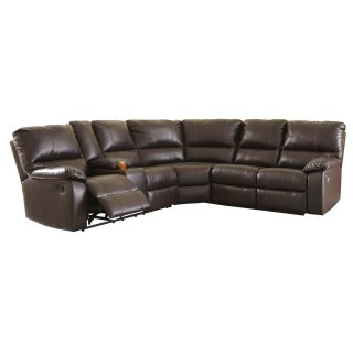Warstein Reclining Sectional Left