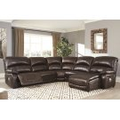 Hallstrung - Chocolate 5 Piece Sectional Product Image