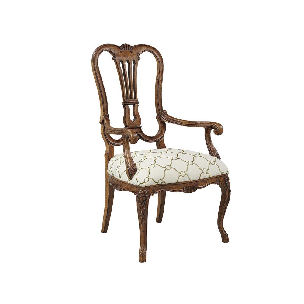 Steamship Splat Back Arm chair