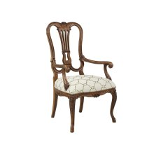 Steamship Splat Back Arm chair