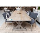 """Mills Dining Table 84"""" Vintage Taupe Product Image"""