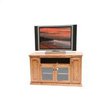 """O-T238 Traditional Oak 56"""" TV Console"""