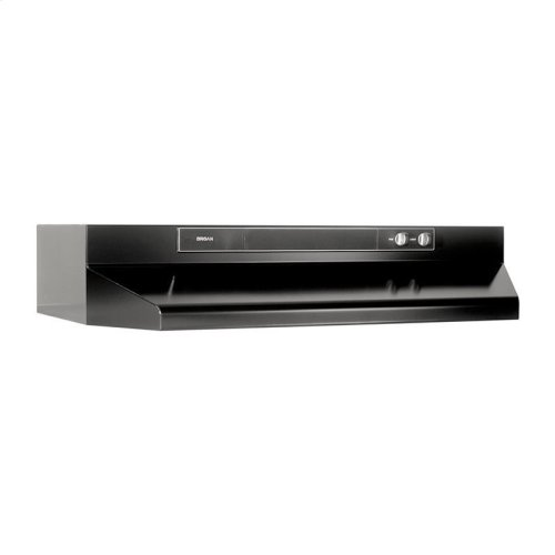 "30"" 220 CFM Black Under-Cabinet Range Hood"