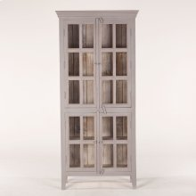 "Coral Gables 38"" Tall Cabinet Graywash"