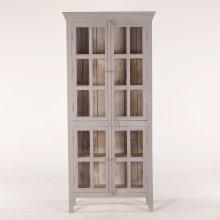 "Coral Gables 38"" Tall Cabinet Graywash"